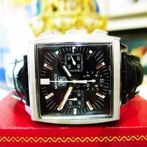 TAG Heuer Monaco Automatic Ref: Cw2111-0 Chronograph Stainless...