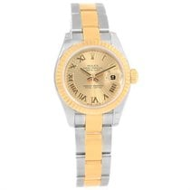Rolex Datejust Steel Yellow Gold Sunray Dial Ladies Watch...