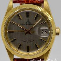 Tudor 34mm Automatik 1970 gebraucht Prince Oysterdate Silber