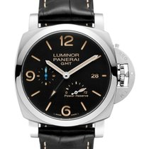 Panerai Luminor 1950 3 Days GMT Power Reserve Automatic Stahl 44mm Schwarz Deutschland, Baden Baden