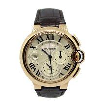 Cartier Ballon Bleu Chronograph 3107 Ref. W6920074 Rose Gold 18Kt