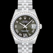 Rolex Lady-Datejust White gold 31mm Green United States of America, California, San Mateo