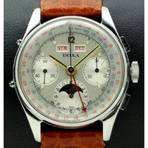 Doxa | Vintage Chronograph Triple Date Stainless Steel, from '50