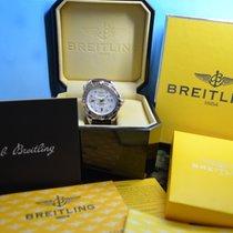 Breitling Galactic Big Date Automatik, MOP Perlmutt & Diamante...