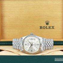 Rolex Oyster Perpetual Datejust 36 mm Whitegold Stahl Jubilee