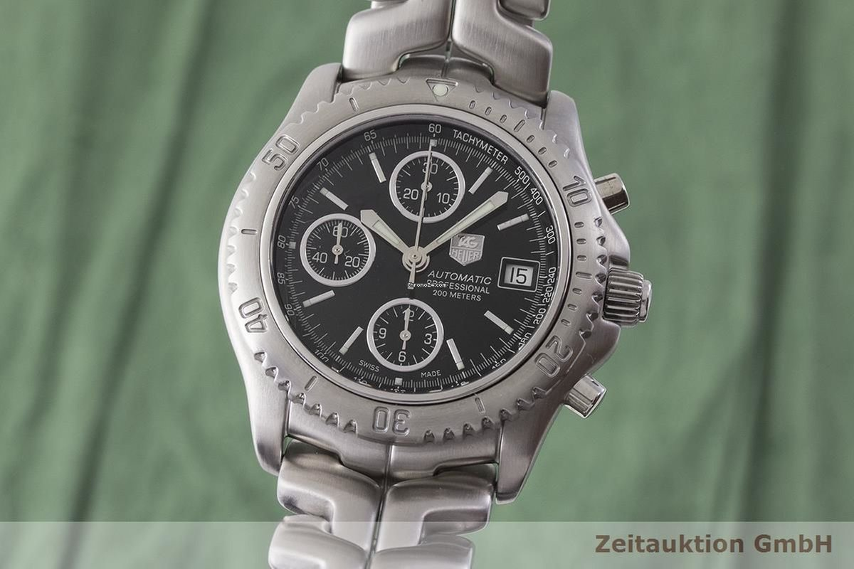 d97a97f2832 TAG Heuer Professional Chronograph Automatik Herrenuhr Ref.... for $1,410  for sale from a Trusted Seller on Chrono24