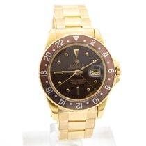Rolex 1675 Κίτρινο χρυσό 1967 GMT-Master 40mm μεταχειρισμένο