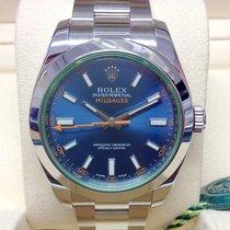 Rolex Milgauss Steel 40mm Blue No numerals United Kingdom, Wilmslow