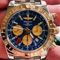 Breitling Chronomat 44 GMT Stål 44mm Blå Inga siffror Sverige, Skövde
