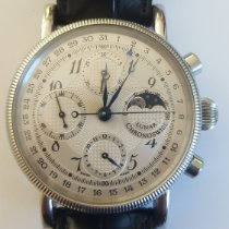 Chronoswiss Steel Automatic Arabic numerals 38mm pre-owned Lunar