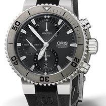 Oris Aquis Titan Chronograph Titanium 46mm Grey