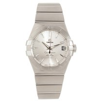 Omega Constellation Men Steel 38mm Silver No numerals United Kingdom, Manchester
