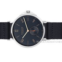 NOMOS Ahoi Atlantik Steel 40.3mm Blue Arabic numerals United States of America, Florida, Aventura