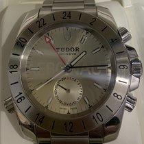 Tudor Sport Aeronaut Stahl 40mm Silber