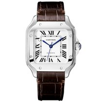 Cartier new Automatic 35mm Steel Sapphire Glass