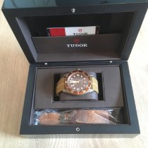 Tudor Black Bay Bronze gebraucht 43mm Braun Leder