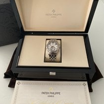 Patek Philippe 5960/1A-001 Steel 2016 Annual Calendar Chronograph 40.5mm pre-owned