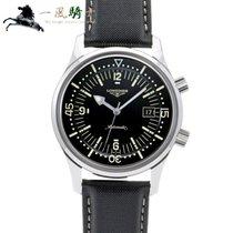 Longines Legend Diver pre-owned 42mm Black Leather