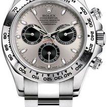 Rolex Daytona White gold 40mm Grey No numerals