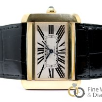 Cartier Tank Divan new 2008 Automatic Watch with original box and original papers W6300856