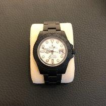 Rolex Keramik Automatik Schwarz Keine Ziffern 40mm gebraucht GMT-Master II
