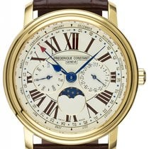 Frederique Constant Classics Business Timer 40mm White