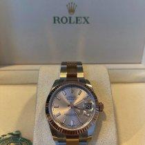 Rolex 178271 Or/Acier 2019 Lady-Datejust 31mm nouveau