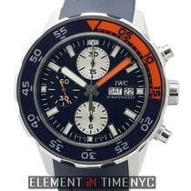 IWC Aquatimer Collection Aquatimer Chronograph Blue Dial 2012