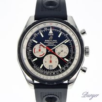 ブライトリング クロノマチック 49 新品 2017 自動巻き クロノグラフ 正規のボックス付属の時計 A14360