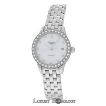 Longines Flagship Steel 26mm Mother of pearl United States of America, New York, New York