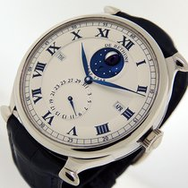 De Bethune Oro blanco 42mm Cuerda manual DB15WT usados