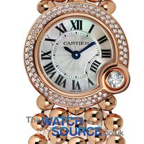Cartier Ballon Blanc Oro rosado 24mm Madreperla Romanos