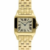 Cartier Santos Demoiselle Yellow gold 26mm White Roman numerals United States of America, Maryland, Towson, MD