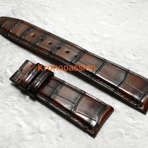 IWC Dark Brown Alligator Strap by Santoni 22/18mm