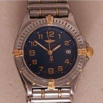 Breitling Wings Lady Steel 31mm Blue Arabic numerals