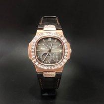 Patek Philippe Nautilus 5724R Rose Gold and Baguette Diamond