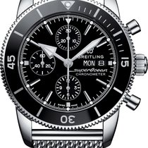 Breitling Superocean Héritage II Chronographe new 2019 Automatic Chronograph Watch with original box and original papers A13313121B1A1