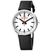 febd57741d82 Mondaine Stop2go nuevo Cuarzo Reloj con estuche y documentos originales  MTS.4101B.LB MONDAINE