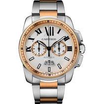 Cartier Calibre de Cartier Chronograph W7100042 new