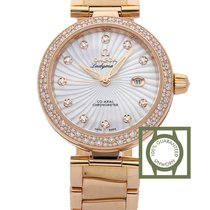 Omega 425.65.34.20.55.001 Or rouge De Ville Ladymatic 34mm
