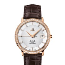 Omega Rose gold 36.5mm Automatic 413.58.37.20.52.001 new