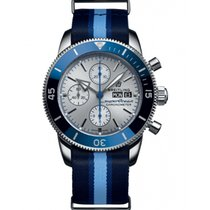 Breitling Superocean Héritage II Chronographe A133131A1G1W1 Nieuw Staal 44mm Automatisch