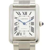 Cartier Tank Solo Steel 31mm White