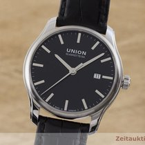 Union Glashütte Acier 41mm Remontage automatique D001.407A occasion