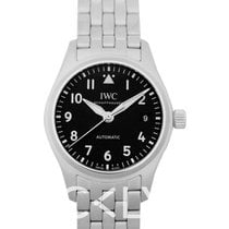 IWC Pilot's Watch Automatic 36 Сталь 36.0mm Чёрный