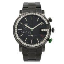 Gucci Сталь 44mm Кварцевые G-Chrono подержанные