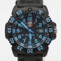 Luminox Plastic Quartz Black Arabic numerals pre-owned
