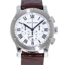 Ralph Lauren Steel 44.8mm Automatic RLR0230701 pre-owned