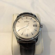 Eterna Vaughan Acero 42mm Blanco