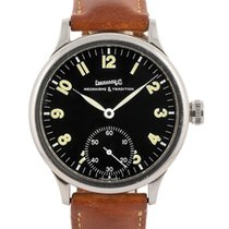 Eberhard & Co. Traversetolo Steel 43mm Black Arabic numerals